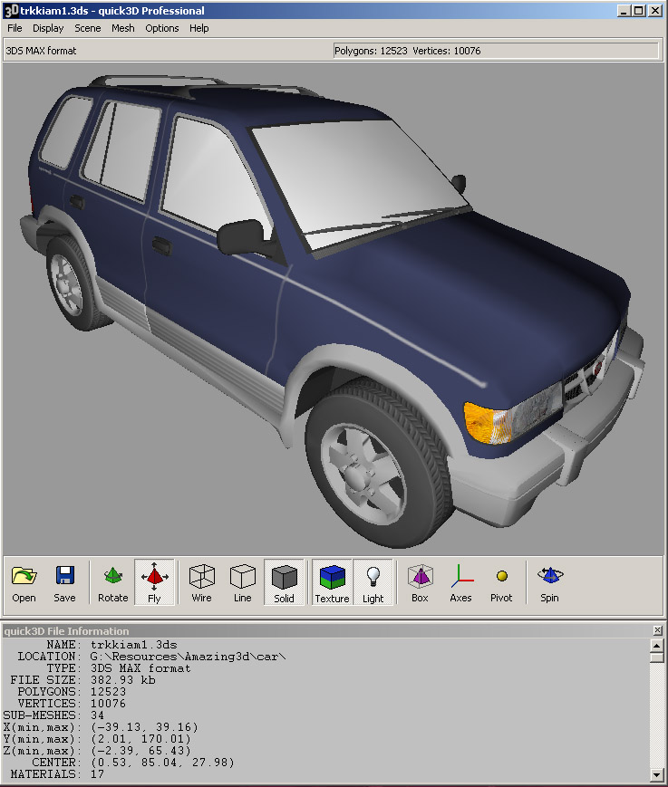 Click to view quick3D Viewer 4.0 screenshot
